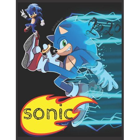 Sonic Coloring Book For Kids And Adults With Fun Easy And Relaxing Paperback Walmart Com In 2021 Sonic Sonic Art Sonic Heroes