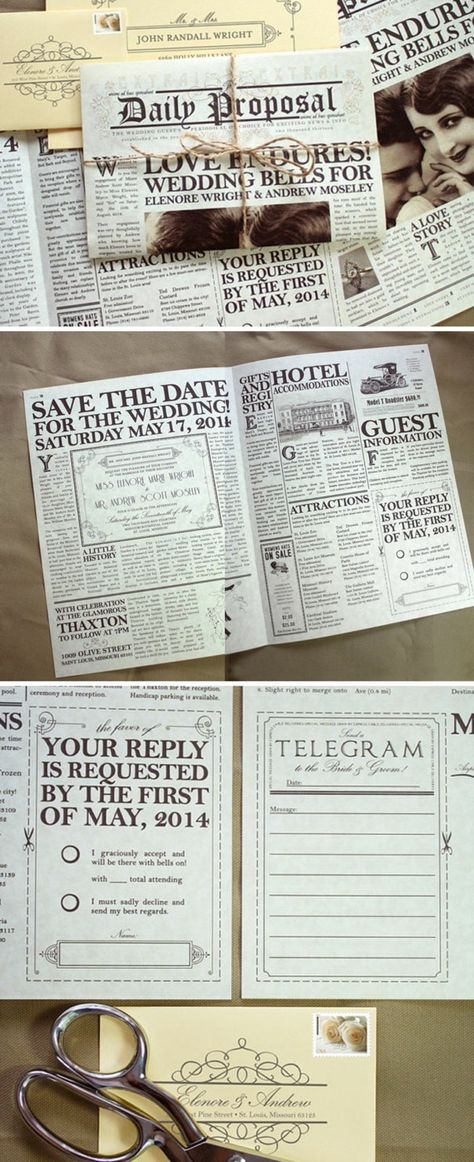 example0th wedding anniversary newspaper announcements%0A   page custom newspaper wedding program  newspaper program  printed on  newsprint   Wedding programs  Newspaper and Programming