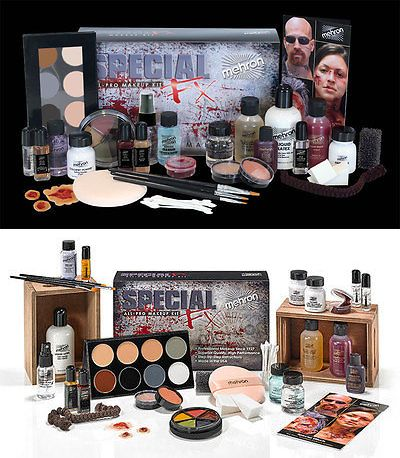Face Paint And Stage Makeup 175644 Mehron Special Effects Fx Professional Pro All Pro Complete Makeup Kit Set Buy It Now Complete Makeup Makeup Kit Mehron