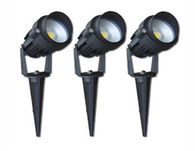 X 6w Led Spike Kit Garden Lights