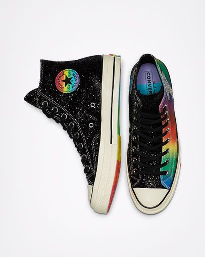 Chuck 70 Pride High Top BlackEgretMulti | Pride shoes