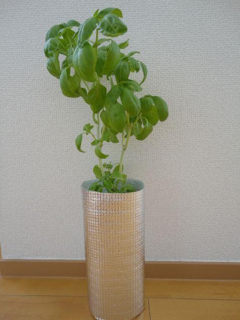 Petボトル水耕栽培容器の作り方 室内で育てるハーブ 水耕栽培 家庭菜園 プランター