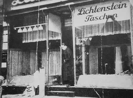 A Shop Damaged During Kristallnacht My Great Grandfather Josef