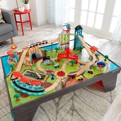 Kidkraft Aero City Rain Set Table Decoracao