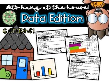Data In The House Graphing Activities Bar Graphs Activities