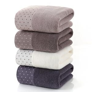 3pc Polka Dot Cotton Towel Set 수건 인테리어