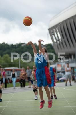 Children Playing Basketball Stock Photos Ad Playing Children Basketball Photos Basketball Photos Stock Photos Photo