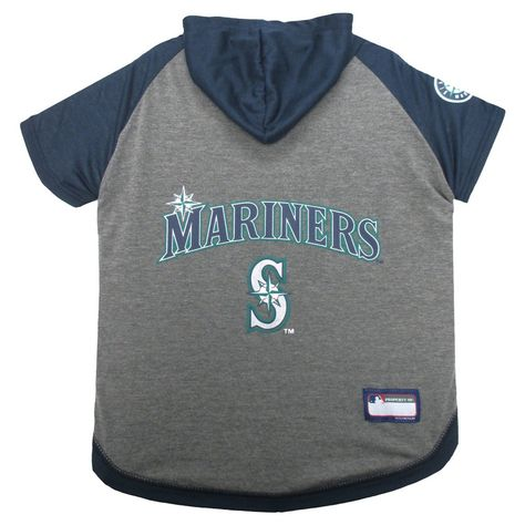 05789b0a3 MLB Seattle Mariners Pet Hoodie T-Shirt - X Small