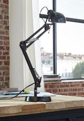 Lampe De Bureau Colours Tutti Noir En 2020 Lampe De Bureau Lampe Architecte