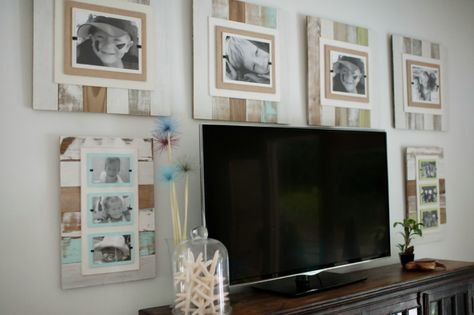 New Reclaimed Wooden Frames at Iron Accents for 2014