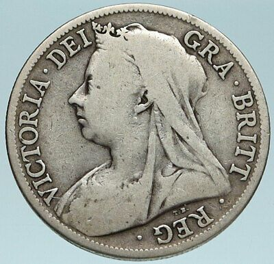 1895 Uk Great Britain United Kingdom Queen Victoria 1 2 Crown Silver Coin I83157 Trustedcoins In 2020 Great Britain United Kingdom Queen Victoria Silver Coins