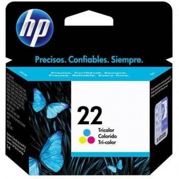 Cartucho Impressora Hp Deskjet 22 C9352ab Colorido 6ml Magazine