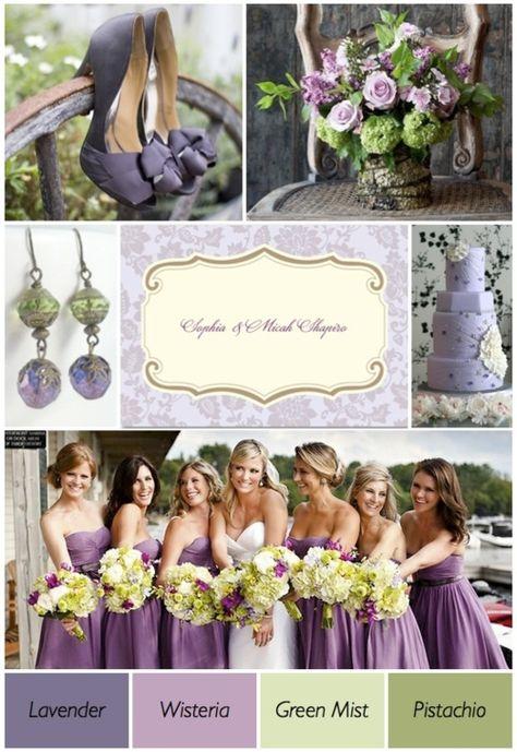 Purple And Green Wedding Theme — Wedding Ideas, Wedding Trends, and Wedding colors JAIME
