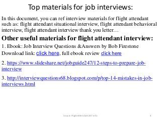 88 Flight Attendant Interview Questions And Answers With Images Flight Attendant Interview Questions