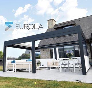 Retractable Roof Systems Eurola Australia Terrass Mallorca In 2019 Retractable Pergola Roofing Systems Pergola