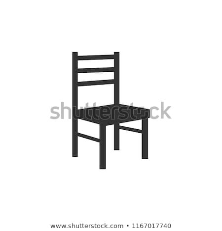 Wooden Chair Vector Isolated Illustration Chair Beautiful Chair Art Chair