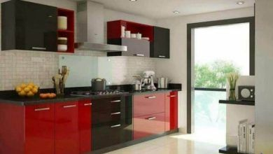 ديكورات مطابخ مودرن Small Kitchen Design Apartment Kitchen Furniture Design Kitchen Room Design