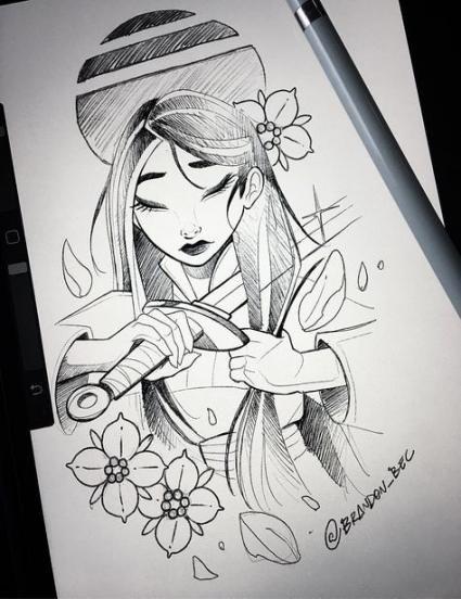 64 Best Ideas Tattoo Disney Mulan Beautiful #tattoo
