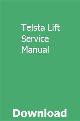 Telsta Lift Service Manual Body Pump Pump Training Manual