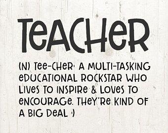 Teacher Svg Files For Silhouette Cricut Teacher Svg Teacher Gift Teacher Mug Teacher Appreciation Quotes Teacher Encouragement Teacher Quotes Inspirational