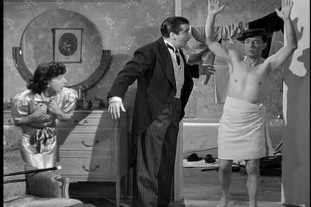 She's Oil Mine Buster and Monty Collins in Shes Oil Mine Buster Keaton Columbia