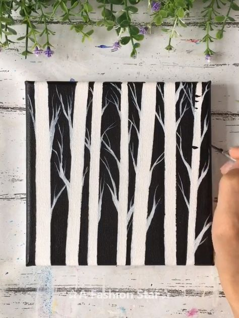 Are you still spending lot of money to buy those artworks for home decor? In fact, you don't have to do that, you can totally make easy painting art by yourself #painting #paint #watercolor #contemporaryart #instaart #sketch #draw #decor #homedecor #interior #decoration #house #interiors #homedesign #instadecor