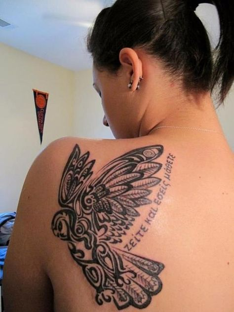 83701ebe4 owl butterfly tattoo - Google Search | Tattoos | Tattoos, Anonymous tattoo,  Butterfly