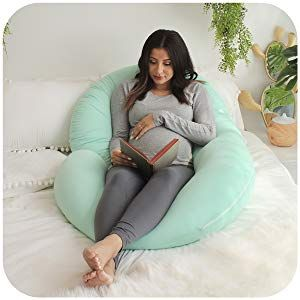 Peachy Pregnancy Pillow Maternity Support Full Body Belly Back Hips Uwap Interior Chair Design Uwaporg