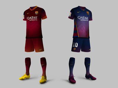 Fcbarcelona Soccer Kit Soccer Kits Soccer Good Soccer Players