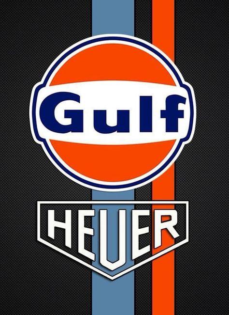 Gulf - Gulf Heuer advertising.
