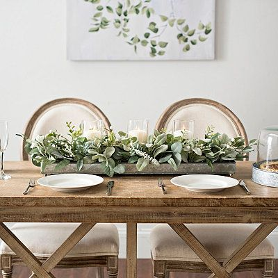 110 Kitchen Table Centerpieces Ideas, White Centerpieces For Dining Room Table