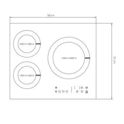 Plaque De Cuisson Induction 3 Foyers Cooke Lewis En 2020