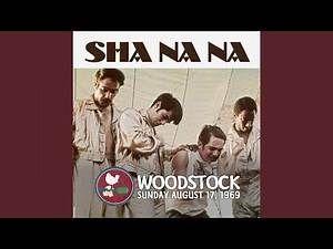 Sha Na Na Rock And Roll Is Here To Stay 1970 Woodstock Sha Na Na 60s Music