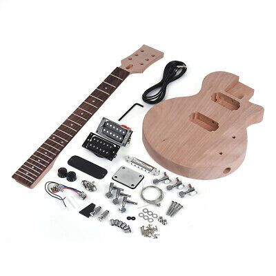 Us Muslady Lp Style Unfinished Diy Electric Guitar Kit Electric Guitar Kits Guitar Kits Electric Guitar