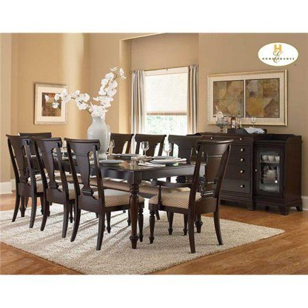 Winsome Wood Inglewood Dining Table Walnut Finish Walmart Com Formal Dining Room Sets Dining Room Decor Luxury Dining Tables