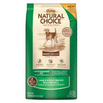 Nutro Natural Choice Limited Ingredient Diet Senior Lamb And Whole
