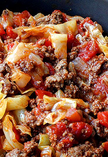 Unstuffed Cabbage Rolls--Can't think of what more to say that utterly fabulous. We loved EVERYTHING about this dish. My only recommendation is to add as much pepper as you can handle. We did that and the extra pepper flavor was perfection!