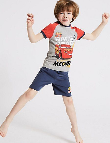 Buy the Disney Cars™ Pure Cotton Short Pyjamas Years) from Marks and Spencer's range.