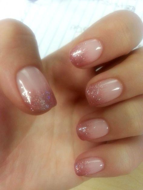 fancynails #lovenails #howtodonails #prettynails #mynails #essie #gelnageldesign #dippednails #glitternails