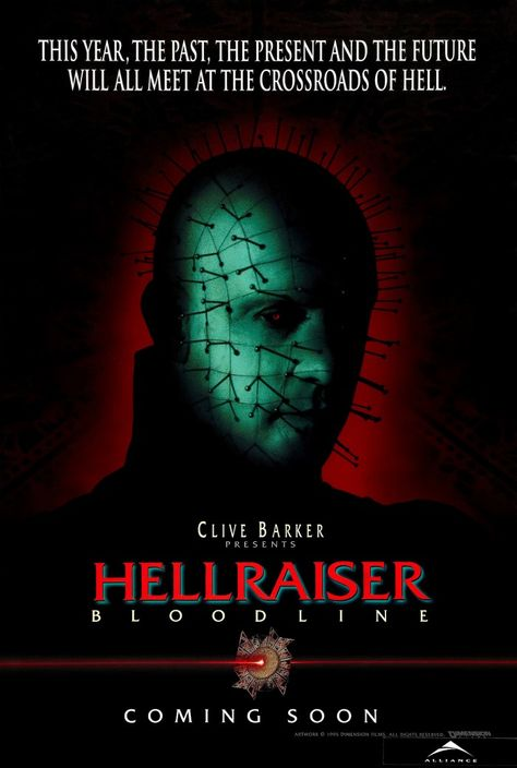 HELLRAISER BLOODLINE Movie Art Silk Poster 12x18 24x36
