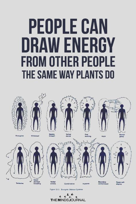 People Can Draw Energy From Other People The Same Way Plants Do