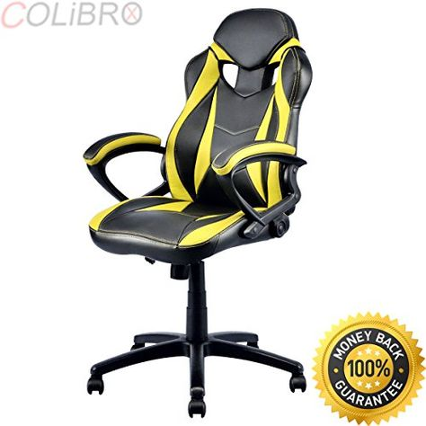Sensational Colibrox Executive Race Car Style Chair High Back Bucket Camellatalisay Diy Chair Ideas Camellatalisaycom