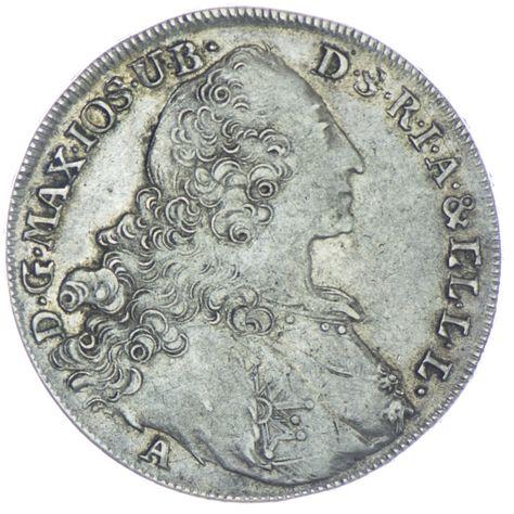 Madonnentaler 1770 A, Silber
