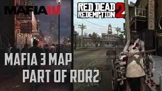 Mafia 3 Map Included In Red Dead Redemption 2 New Bordeaux