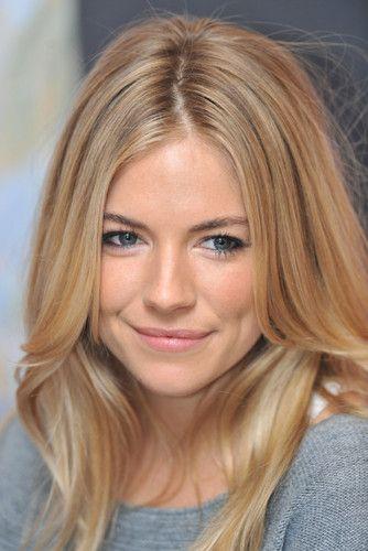 Just gorgeous. Sienna Miller.