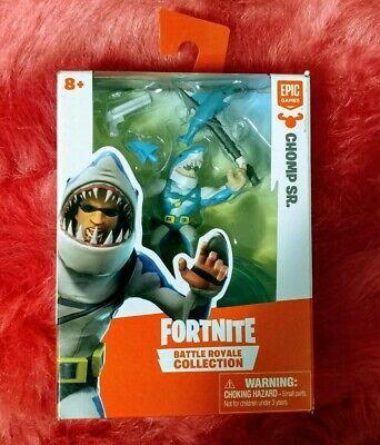 Solo Pack Mini Figure Epic NEW Fortnite Battle Royale Collection CHOMP SR