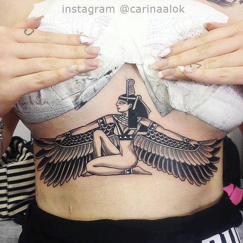 Isis tattoo - Original Dragão Tattoo Studio. Savassi, BH.