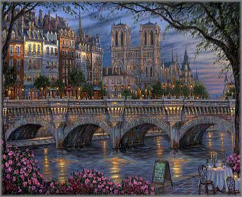 Robert Finale - Afternoon by the River Seine: ART