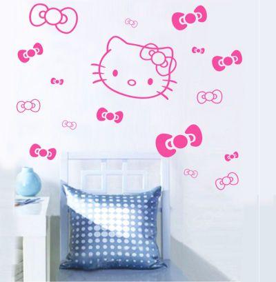 Vinilos Hello Kitty Pared.Fantasy Deco Vinilos Decorativos Hello Kitty Vinilos