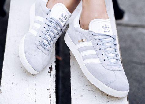 new arrival 133de 69af9 Zapatillas Adidas Originals Gazelle gris marengo para chica. Adidas Gazelle  grey for women.  Add to Closet  Pinterest  Adidas trainers outfit,  Adidas ...